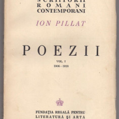 6A(000) Ion Pillat-POEZII- Editii definitive 1944