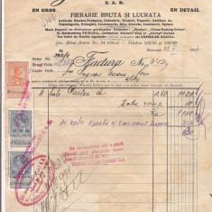 % factura cu antet-INTEPRINDERILE EFTIMIE PREDOLEANU - Pasaport/Document