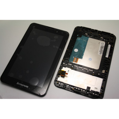 Display touchscreen lcd Lenovo A3000 negru foto