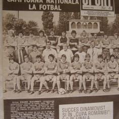 Revista SPORT nr. 6/1982 Dinamo Bucuresti