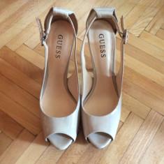 Pantofii dama Guess, marimea 38 - Pantof dama Guess, Culoare: Nude, Piele sintetica