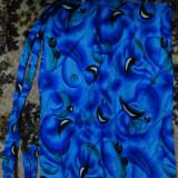 NOU^^^fusta scurta petrecuta pentru PLAJA portocalie si albastra^^^, Marime universala, Albastru, Orange
