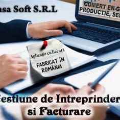 Soft Gestiune Intreprindere-Productie, Servicii, Distributie, fabr.in RO - Solutii business, DVD, Numar licente: 1