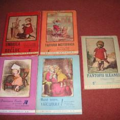Lot 5 carti pentru copii aparute la editura Universul in perioada interbelica. - Carte de povesti