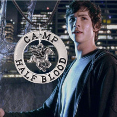 Pandantiv / Colier / Lantisor - Film - CAMP HALF BLOOD - Percy Jackson - Pandantiv fashion
