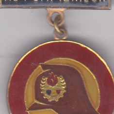 Insigna Pionier Prieten al Pompierilor