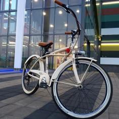 Bicicleta Cruiser Aluminiu - Cursiera, 21 inch, Numar viteze: 7, 26 inch