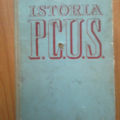 H0 ISTORIA P.C.U.S. {PARTIDULUI COMUNIST AL UNIUNII SOVIETICE}