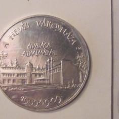 CY - Medalie Ungaria Inaugurarea Primariei & Sfintirea Bisericii Catolice Heviz