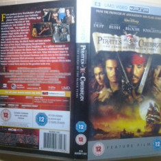 Pirates of the Caribbean -The curse of black pearl(2003) Film UMD PSP (GameLand) - Film comedie, Alte tipuri suport, Engleza