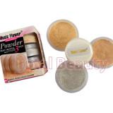 Pudra fata pulbere in 3 culori Pure Mineral Silver + Aplicator special