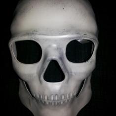 Cap de mort,craniu realistic,masca pentru adulti din plastic rigid
