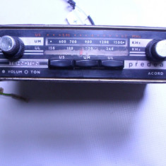 Radio vechi auto Predeal foarte rar anii 60 Electronica functional - Aparat radio