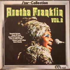 Aretha franklin star collection vol 2 disc vinyl lp jazz blues soul vest midi - Muzica Jazz, VINIL