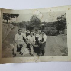 FOTO MASINA DE EPOCA 1931 - Fotografie
