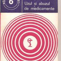 (C6012) UZUL SI ABUZUL DE MEDICAMENTE DE AL. DUMINICA MOISESCU SI ANCA DRAGOI - Carte Farmacologie