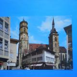 HOPCT 19708 GERMANIA STUTTGART BISERICA STIFTSKIRCHE [ NECIRCULATA ], Printata