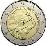 MALTA 2 euro comemorativa 2014-Independenta UNC, Europa, Cupru-Nichel