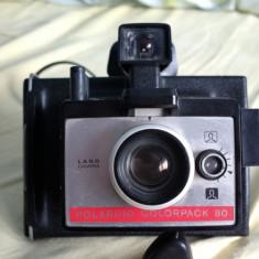 Aparat foto Camera Polaroid Land Camera colorpack 80 colectie vintage 1971 retro - Aparat de Colectie