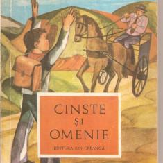 (C6017) CINSTE SI OMENIE, POVESTIRI - Nuvela