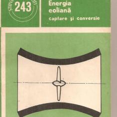 (C6027) ENERGIA EOLIANA. CAPTARE SI CONVERSIE DE C. IULIAN SI P.D. LAZAR - Carti Energetica