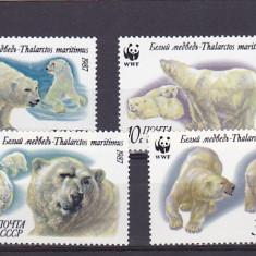 Fauna polara ,ursi WWF ,URSS