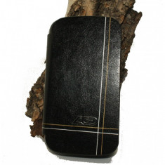 Husa Allview A5 Duo piele ecologica neagra - Husa Telefon Allview, Negru