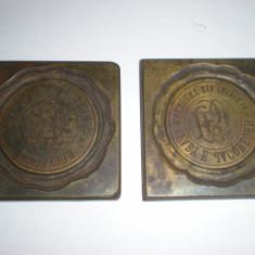 2 sigilii interbelice Bucuresti - Judaica