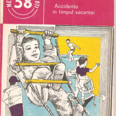 (C6011) ACCIDENTE IN TIMPUL VACANTEI DE C. IONESCU - Carte Farmacologie