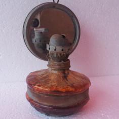 Lampa pe gaz veche