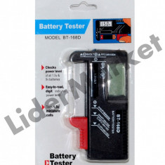 Tester baterii digital BT-168D - Baterie Camera Video