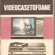 (C5969) VIDEOCASETOFOANE DE MIRCEA RADOI, RADU MATEESCU SI MIHAI BASOIU - Carti Electronica