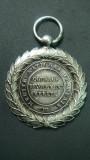 MEDALIA MERITUL NATIONAL FRANCEZ -  ARGINTATATA - DIAMETRUL 3,5 CM, Europa
