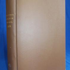 BULETINUL CURTILOR DE APEL * ANUL II / 1925 ( COMPLET ) - BUCURESTI - 1926