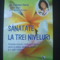 CARMEN HARRA - SANATATE LA TREI NIVELURI - Carte paranormal