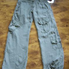 Pantaloni superbi de vara DSQUARED2 de dama, marimea 29 megapret reducere finala - Pantaloni dama, Culoare: Din imagine, Lungi, Bumbac