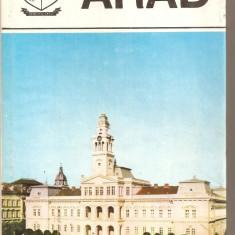 (C5975) JUDETELE PATRIEI - ARAD - Carte Monografie