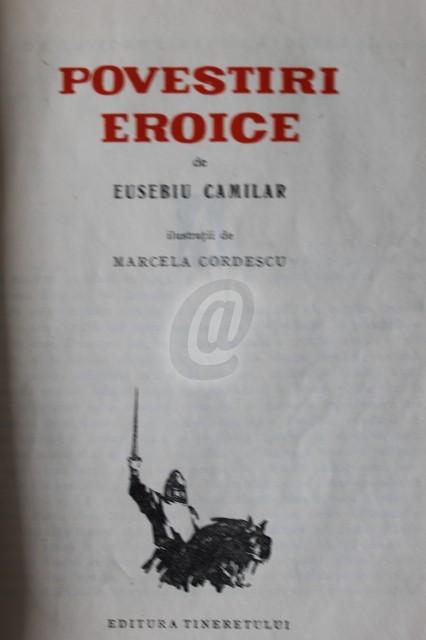 Povestiri eroice , vol. I (1960)