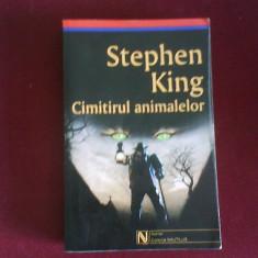 Stephen King Cimitirul animalelor - Carte Horror