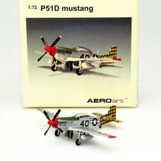 2524.Macheta avion P-51D Mustang Mary Mac Lt. Gordon H. McDaniel 1:72 - Macheta Aeromodel