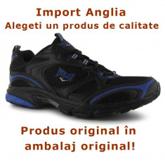 Adidasi originali Everlast, negru, vara, alergat, usori, Nr 42, ambalaj original, Nou - Adidasi barbati Everlast, Textil