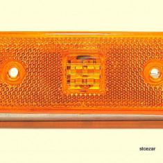 lampa laterala SMD gabarit 12 V portocaliu-lampa led -