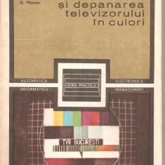 (C5967) FUNCTIONAREA SI DEPANAREA TELEVIZORULUI IN CULORI DE M. BASOIU - Carti Electronica