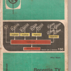 (C5968) RECEPTIA TV LA MARE DISTANTA DE MIHAI BASOIU - Carti Electronica
