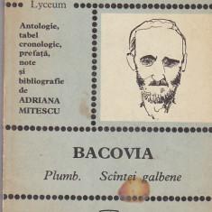 Bacovia - Plumb .Scintei galbene
