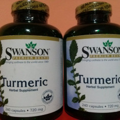 TURMERIC 720 mg, 240 capsule, antiinflamator, cel mai bun pret in Romania! - Supliment nutritiv