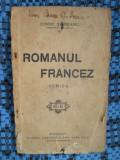 Const. SAINEANU - ROMANUL FRANCEZ (1922)
