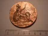 Medalie Londra 1907 Expozitia Internationala de Mobila Artistica Decoratiuni etc, Europa