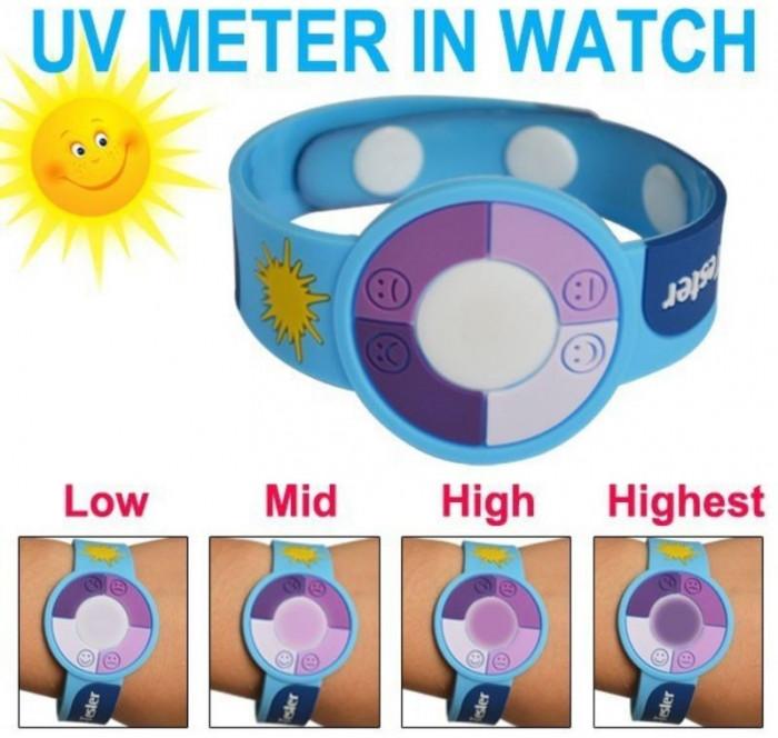 Bratara tester pentru radiatii ultraviolete (tester UV)