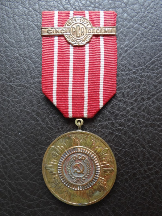 Medalie 5 Decenii PCR